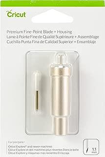 Cricut 2004225 Premium Fine Point Blade Plus Housing, Multicolor