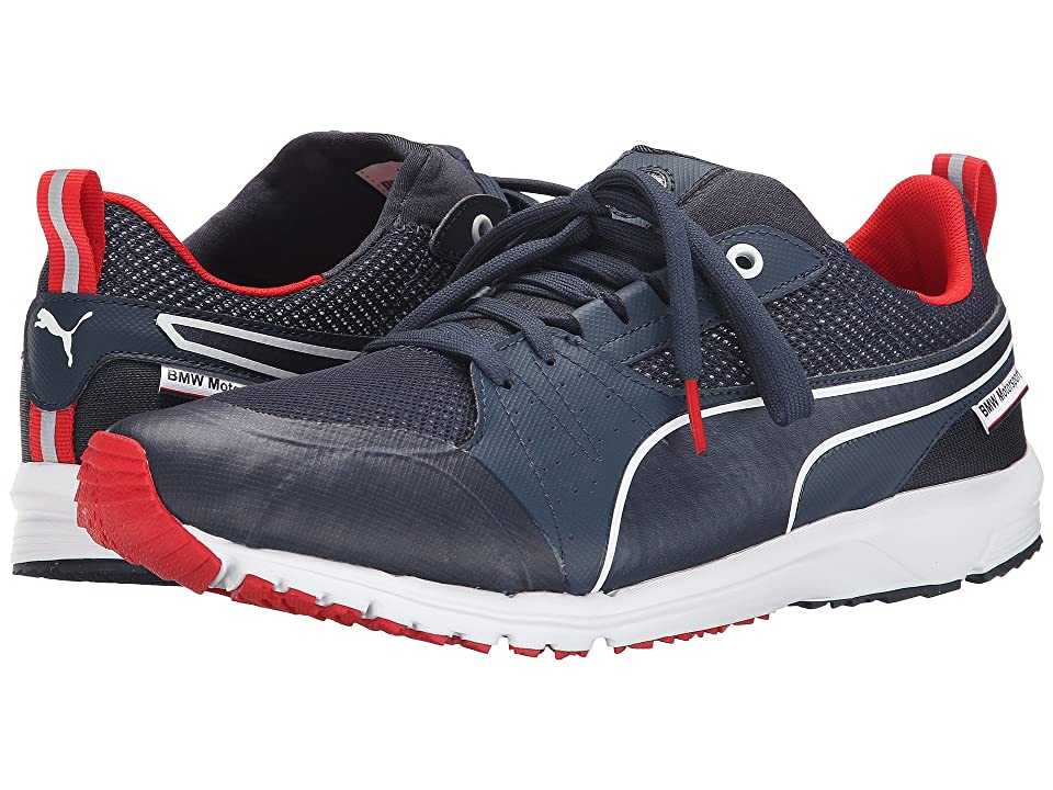 PUMA BMW MS Pitlane Nightcat (BMW Team Blue High Risk Red) Men s Shoes 37df94353