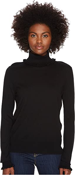 Kate Spade New York - Ruffle Turtleneck