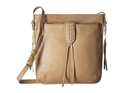 Lucky Brand Amber Crossbody (Travertine) Handbags