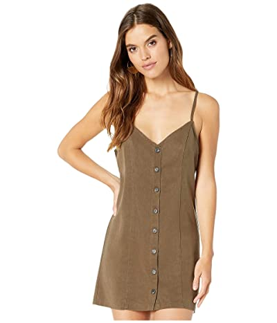 Show Me Your Mumu Remington Dress (Army Green Tencel) Women
