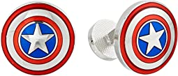 Marvel™ Avengers Captain America Shield Cufflinks