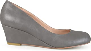Womens Round Toe Classic Wedges