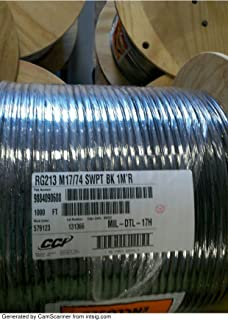 MPD Digital RG213-bulk-100 Coax Without Connectors Swept and Certified Bulk Coaxial Cable 50 Ohms, 100'