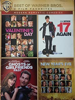 4 Film Favorites:Modern Romantic Comedies (17 Again New Year's Eve Valentine's Day Ghosts of Girlfriends past)