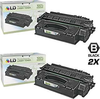 LD Compatible Toner Cartridge Replacement for HP 49X Q5949X High Yield (Black, 2-Pack)