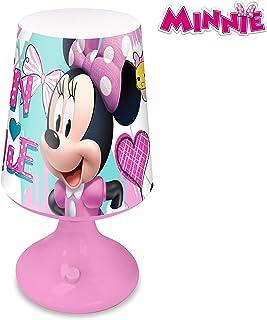 Disney KD-WD19718 Lampara escritorio de Minnie Mouse, Multicolor