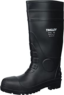 Tingley 31251.10 Pilot 15-in Cleated Steel Toe Knee Boot,...