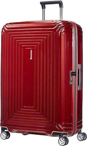 Samsonite Neopulse - Spinner L Valise, 75 cm, 94 L, Rouge (Metallic Red)