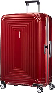 Samsonite Neopulse - Spinner L Valise, 75 cm, 94 L, Rouge (Metallic Red)