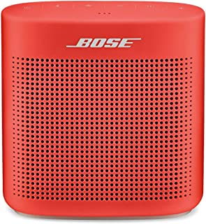 Bose SoundLink Color II: Portable Bluetooth, Wireless Speaker with Microphone- Coral Red photo