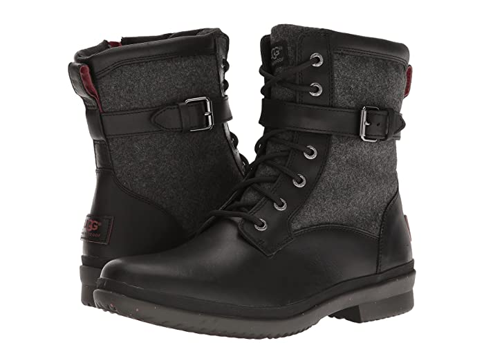 Vintage Style Shoes, Vintage Inspired Shoes UGG Kesey Black Womens Boots $159.95 AT vintagedancer.com