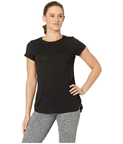 Smartwool Everyday Exploration Slub Short Sleeve Tee (Black) Women