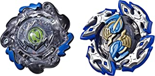 Takara Tomy E4749AS00 Beyblade Burst Turbo Slingshock Dual Pack Dullahan D4 and Dark-X Nepstrius N4 - 2 Right-Spin Battlin...