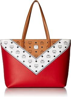 MCM Womens M Move Visetos Shopper Medium