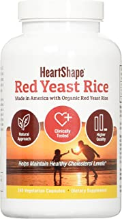 HeartShape Red Yeast Rice 240 Count