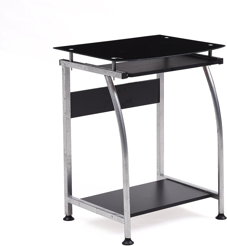 Hodedah HIS818 Laptop Desk, Black