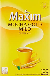 Maxim Mocha Gold Mild Coffee Mix – 100pks