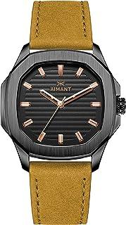 Milan Watches | 42 MM Men's Analog Watch | Leather Strap