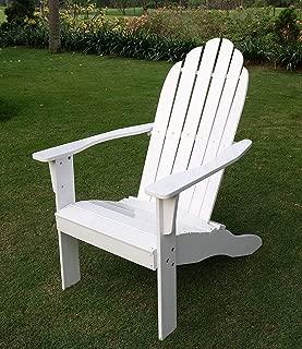 Cambridge-Casual AM-240252-WH Bentley Adirondack Chair, Brilliant White