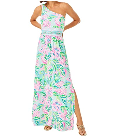 Lilly Pulitzer Malia Maxi Dress (Multi Totally Blossom Engineered) Women
