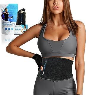 Sports Laboratory Midja Trainer PRO + för män och kvinnor - Idealisk svettbälte för viktminskning och hållning under träni...