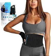 Sports Laboratory Waist Trainer PRO + voor mannen en vrouwen - Ideale zweetband voor gewichtsverlies en houdingsondersteun...