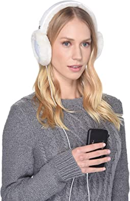 All Weather Water Resistant Sheepskin Earmuff with Tech Option