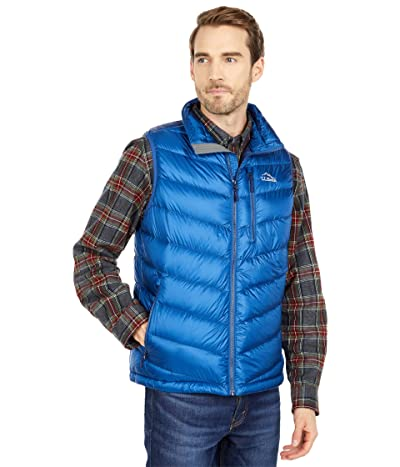 L.L.Bean Ultralight 850 Down Vest (Ocean Blue) Men