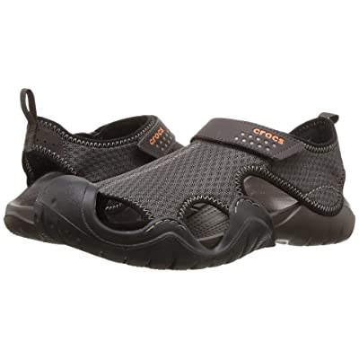 Crocs Swiftwater Sandal (Espresso/Espresso) Men