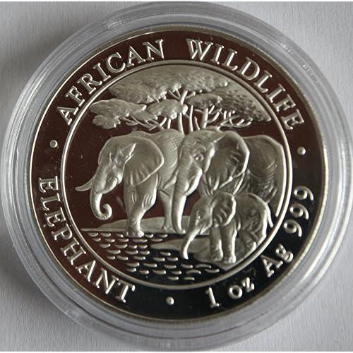 2017 $2 Niue 1oz .999 Fine Silver African Lion BU Coin