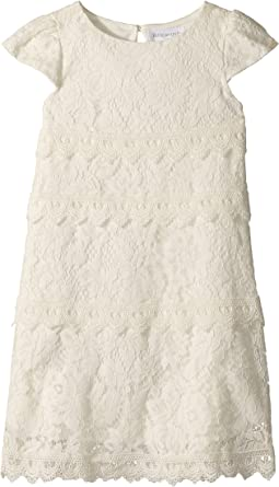 Us Angels Cap Sleeve Shift Dress (Toddler/Little Kids)