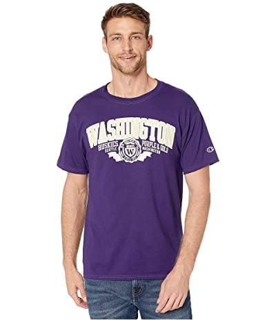 Champion College Washington Huskies Jersey Tee (Champion Purple 1) Men