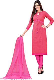 Minu salwar Cotton Printed Suit sets Hot Pink(Prehandloom_3010_0)