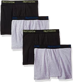Fruit of the Loom Men's 4-Pack Premium Dri-Stretch Short Leg Boxer Brief