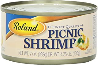 Roland Picnic Shrimp, 7 Ounce (Pack of 6)