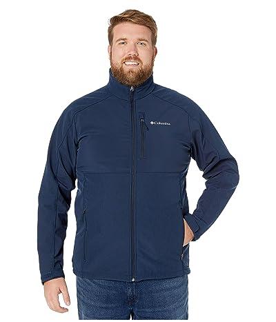 Columbia Big Tall Ryton Reservetm Softshell (Collegiate Navy Heather/Collegiate Navy) Men