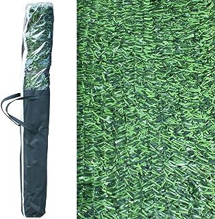 comprar comparacion Pal Ferretería Industrial Rollo de seto Artificial ignífugo Verde de ocultación 3x1m