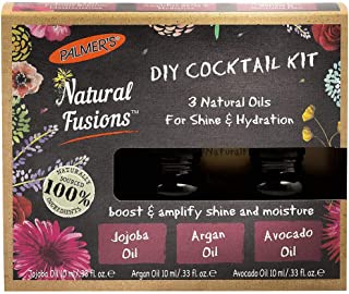 Palmers Natural Fusions Shine and Hydration DIY Cocktail Kit for Unisex 3 x 0.33 oz