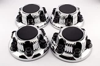 Set of 4 Replacement Aftermarket Center Caps Hub Cover (Fits Chevy & GMC Only 6 Lug Wheels) 16