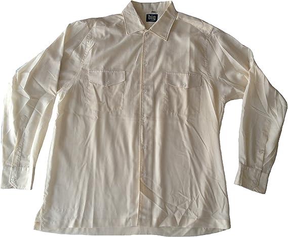 Camisa para Hombre Tallas Especiales en Safari Look con Dos ...