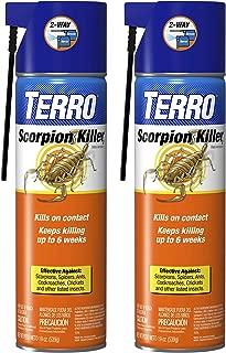 Terro T2101SR Scorpion Killer Spray-2 Pack, White