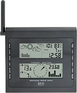 Thermor Bios Digital Home Weather Station (Gray, 15.5-Inch x 10.5-Inch x 5.5-Inch)