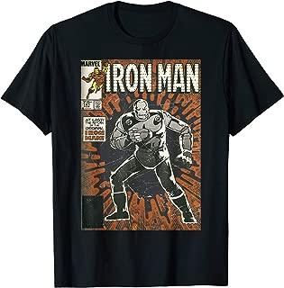 Avengers Iron Man Original Old School Comic Cover T-Shirt