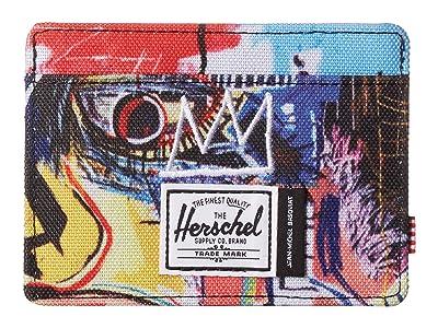 Herschel Supply Co. Charlie RFID (Basquiat Skull) Wallet Handbags