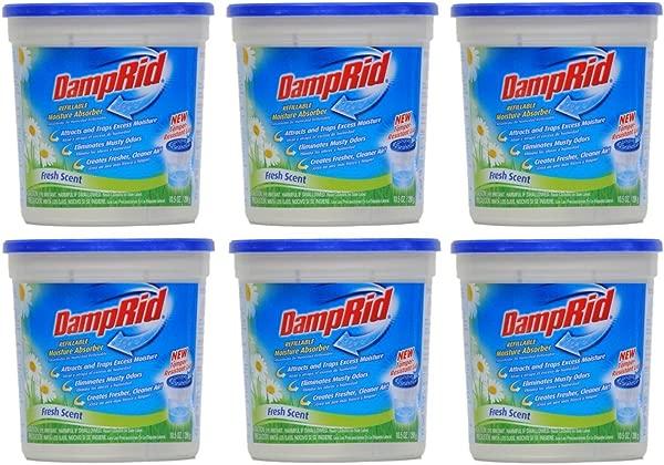 DampRid Damprid 吸湿器清新香味 10 5 盎司装 6