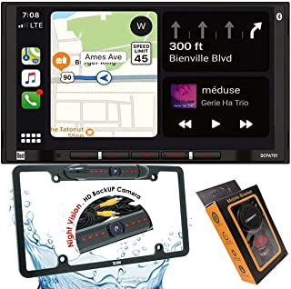 $199 » Dual Electronics DCPA701 7-Inch Single-DIN in-Dash Digital Media Receiver with Bluetooth, Android Auto and Wired Mirror Ph...