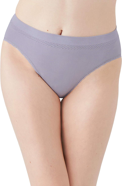 Wacoal Women's B-Smooth Hi Cut Brief Panty