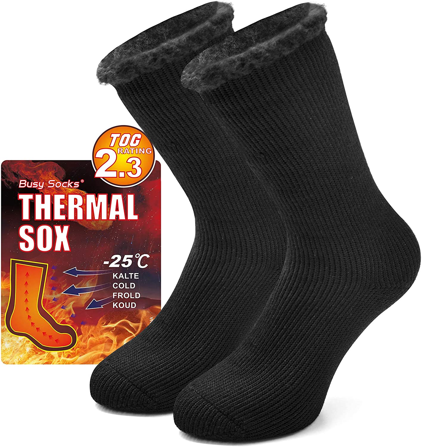 Winter Warm Thermal Socks for Busy Thick Women Men Bargain sale Sale price Extra