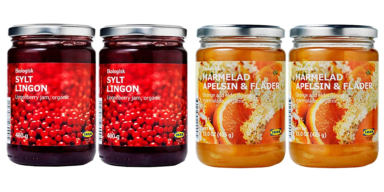 Ikea Organic Jam Bundle Long-awaited - Includes SYLT 2 4 Preserves All items in the store LI Total
